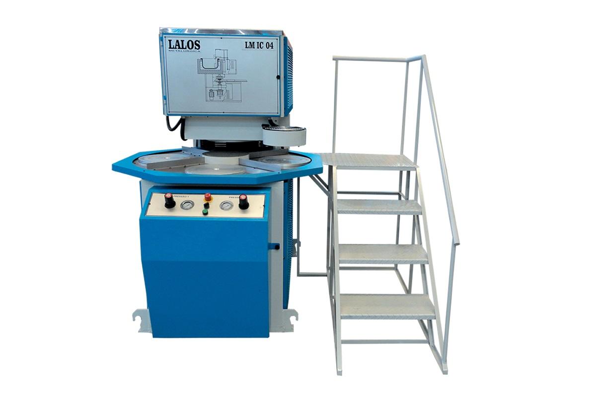 Máquina de Inyeccion de Zamak por Centrifugación LM IC 04