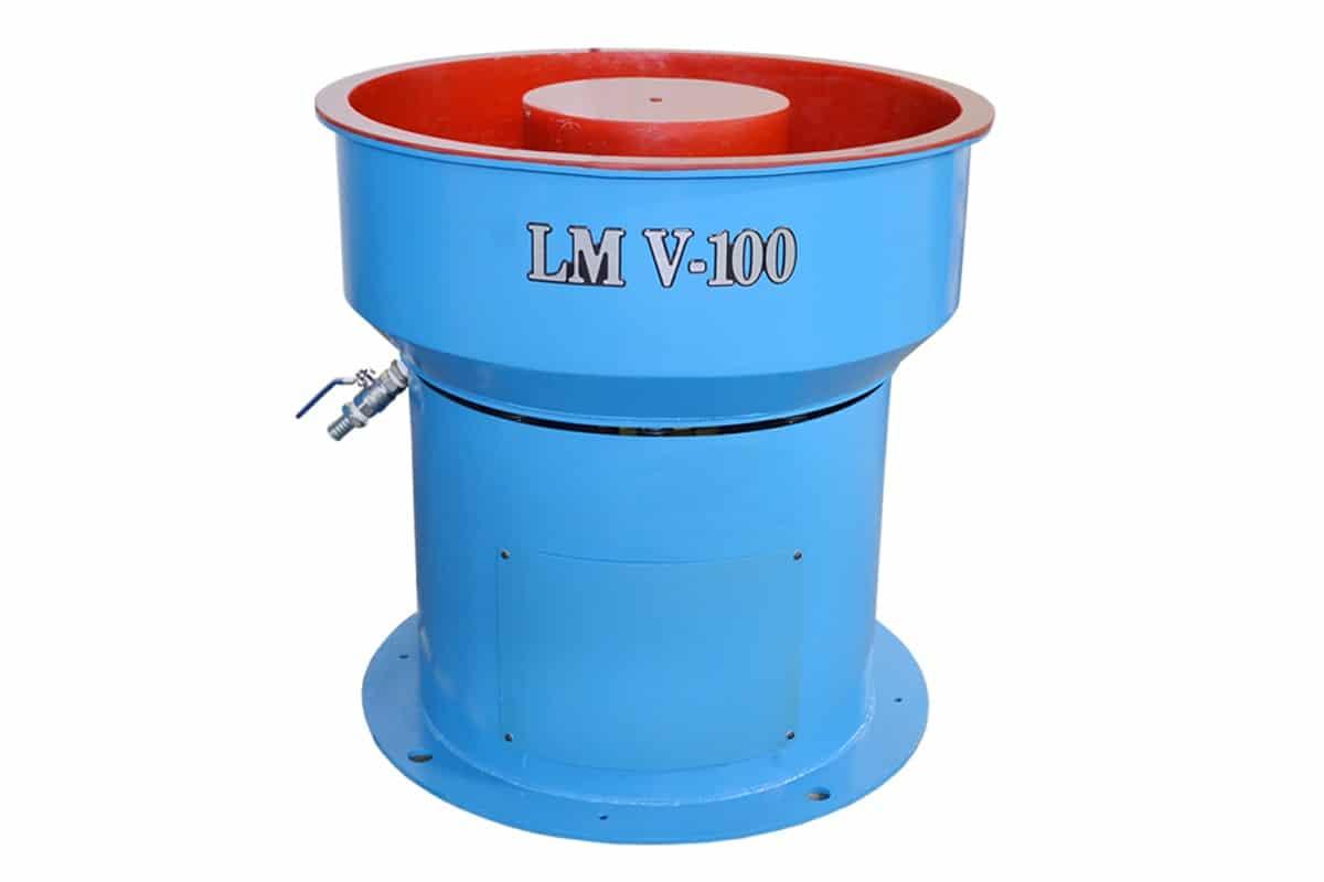Vibradora Circular para Acabamento Peças em Zamac LM V-100
